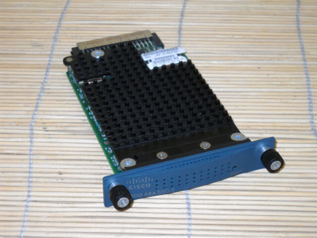 Cisco ASA-SSC-AIP-5-K9 AIP-SSC-5 Advanced Inspection + Prevention Security Card