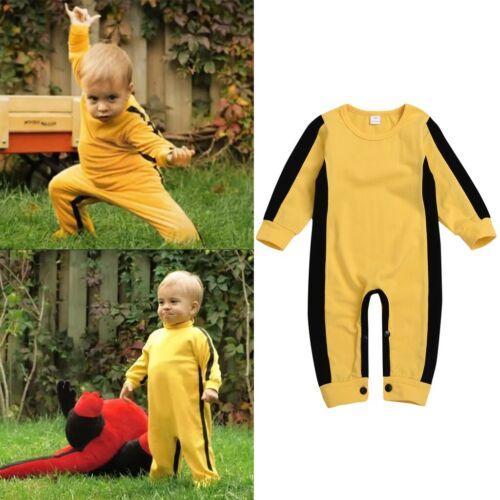 Toddler Kids Baby Infant Newborn Boys Girls Long Sleeve Romper Jumpsuit Bodysuit