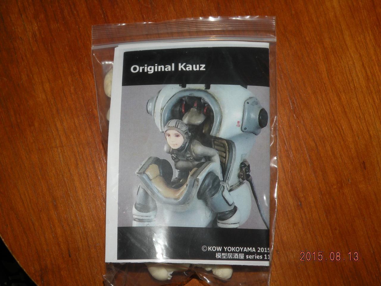 1 20 ORIGINAL KAUZ RESIN FULL KIT SF3D MAK WF2015 RECAST KIT