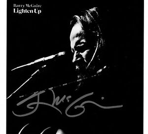 BARRY-MCGUIRE-039-S-STORE-LIGHTEN-UP-CD-NEW-AUTOGRAPHED-BY-BARRY-10-SONGS