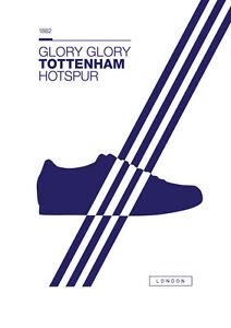 Adidas Spurs A4 260GSM Poster Artwork Casuals