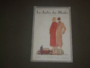 Details about 1925 FEB 15 LE JARDIN DES MODES MAGAZINE - LA CONTRAVENTION -  FRENCH - FR 142