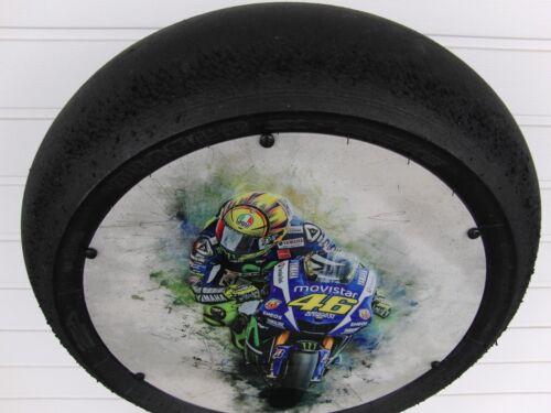 """VR 46 Moto GP//Superbike Slick Valentino Rossi /""""Art/"""" Motorsport Geschenk"""