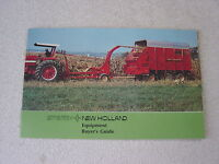 NEW HOLLAND TRACTOR EQUIPMENT BUYERS GUIDE 1974 SALES BROCHURE