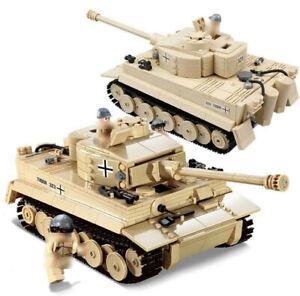 995pcs-WW2-PanzerV-Tiger-Tank-Modell-mit-Army-Soldat-Figuren-Bausteine-Spielzeug