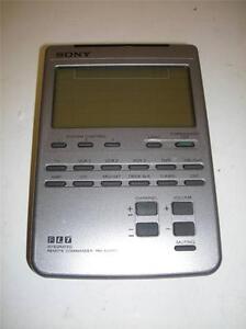 sony rm av2100 integrated universal remote commander touch screen rh ebay com Sony Remote sony remote commander rm av2100 manual