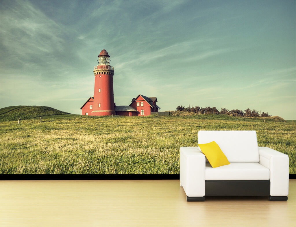 3D Grassland House Scenery 6 Paper Wall Print Wall Decal Wall Deco Indoor Murals