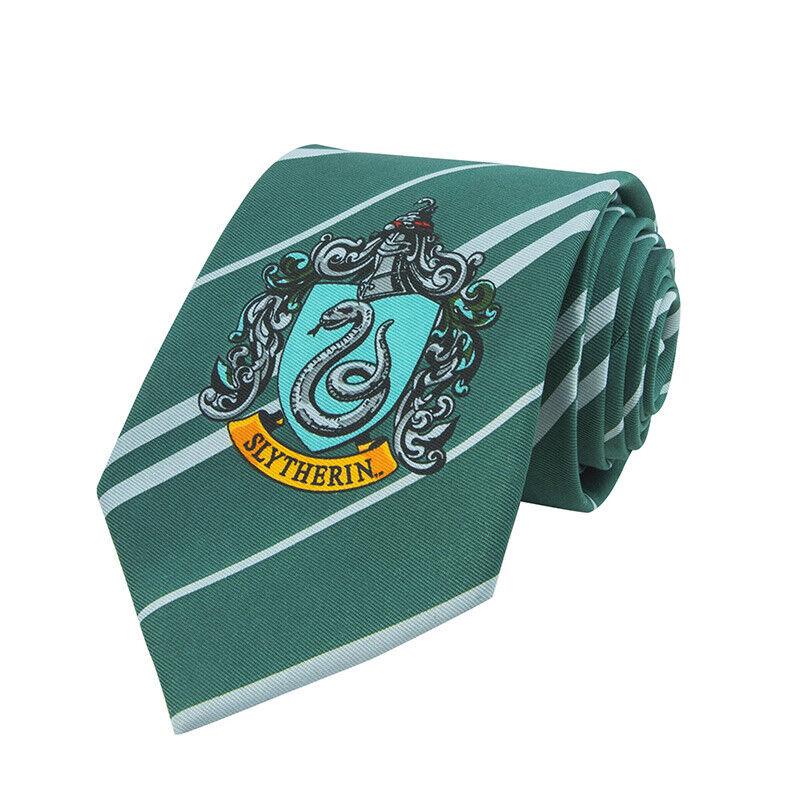Harry Potter Slytherin Necktie - Tie Slytherin Cinereplicas