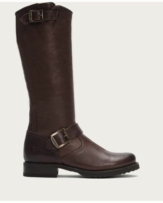 outlet online Frye 'Veronica' Marrone Marrone Marrone Leather Slouch stivali 8  prezzi equi