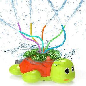 Carino Tartaruga irrigatore per bambini gioco esterno, giardino prato Cura, Summer Fun