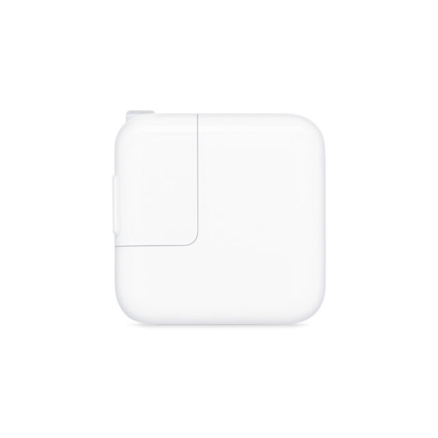 OEM Apple 12W Wall Charger for Apple iPhone Apple iPad Apple iPod - White