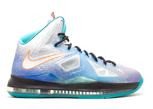 Nike LeBron 10 X Pure Platinum Comfortable best-selling model of the brand
