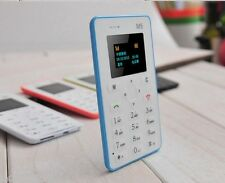 AIEK M5: Lightest, Lowest Radiation Slim Credit Card Size.GSM Mobile Phone