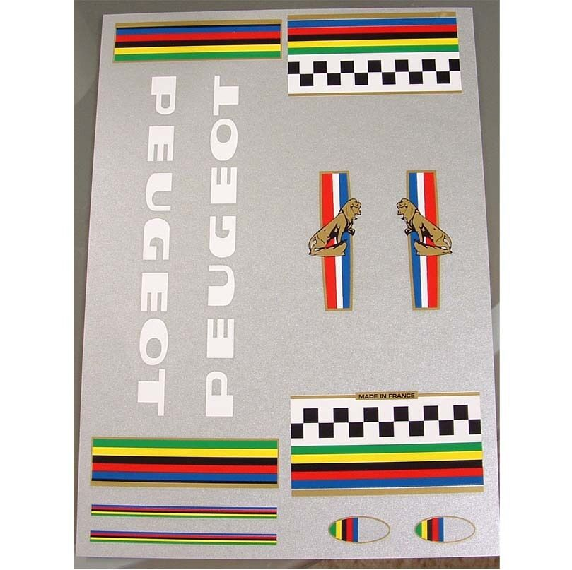 Peugeot PX10 set of  decals vintage 70s  sale