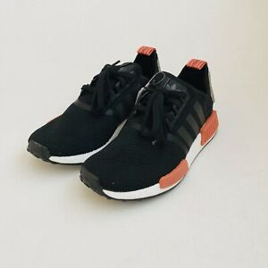 35969e196 Adidas NMD R1 Raw Amber AQ0882 Mesh Boost Black Red Camo Men s Size ...
