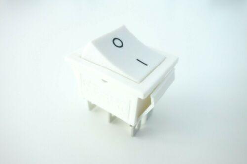 Wippenschalter weiß 2-Polig 12V 24V 230V Netzschalter Geräte Schalter EIN//AUS
