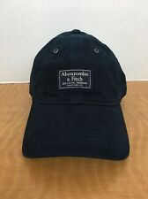 NWT Abercrombie & Fitch Men's Cap Hat...Adjustable...Navy With Heritage Patch