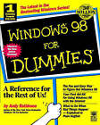 Windows 98 For Dummies by Andy Rathbone (Paperback, 1998)