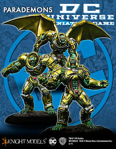 Knight Models Dc Parademon Invasion Univers Miniature Jeu Métal Neuf