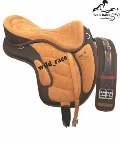 Details about  /Treeless Synthetic Freemax Saddle All Purpose Color BROWN//TAN