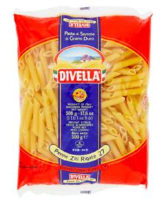 DIVELLA-ITALIANO-PASTA-essiccata-PENNE-RIGATE-20-Sacchetti-x-1-LB-TOT-20LBS