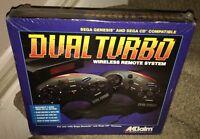 Sealed Dual Turbo Wireless Remote System Sega Genesis & Sega Cd By Akklaim