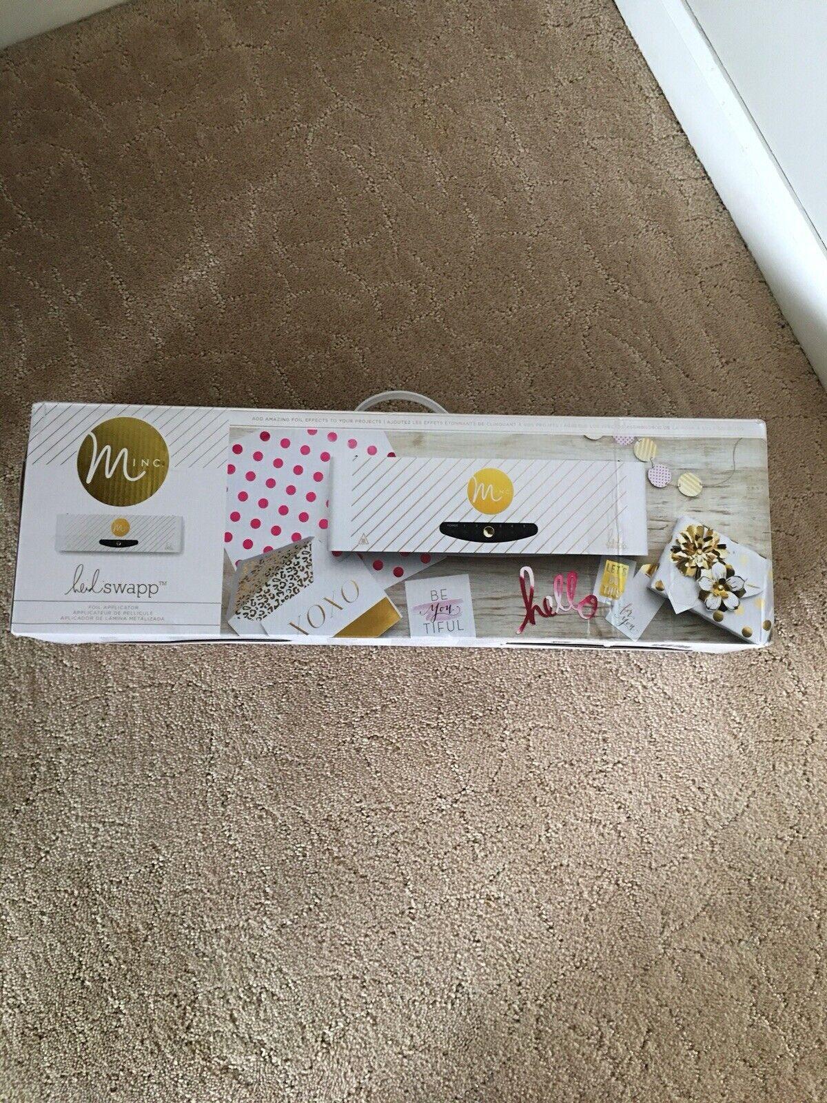Boom American Crafts 8 Piece Heidi Swapp Minc Card Set