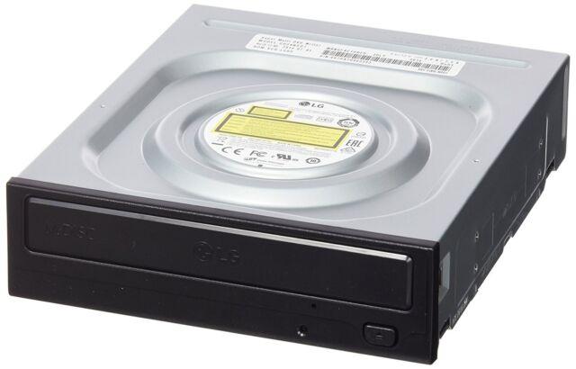 MASTERIZZATORE LG INTERNO GH24NSD1 PER PC SATA DUAL LAYER CD DVD NERO BULK