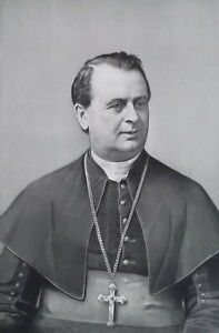 REVEREND-JOHN-RYAN-Archbishop-of-Philadelphia-Portrait-1889-Antique-Print