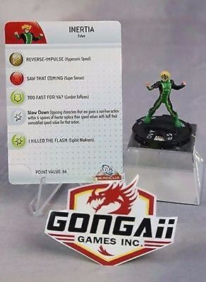 Heroclix The Brave and the Bold set Inertia #038 Rare figure w//card!