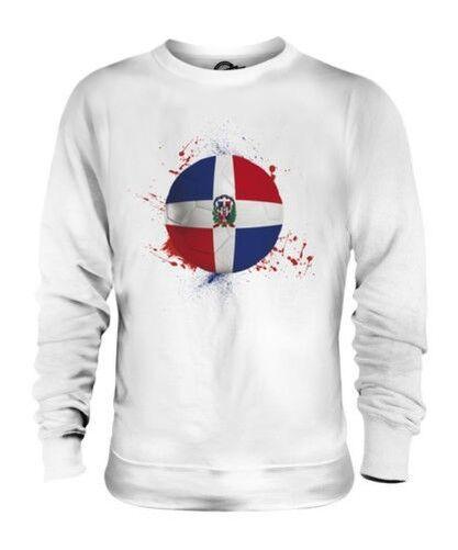 República Dominicana Fútbol Unisex Suéter Regalo Top Copa Del Mundo Deporte