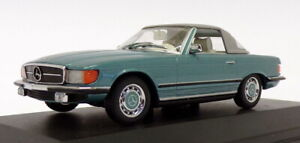 Minichamps-Escala-1-43-430-033441-Mercedes-Benz-350-Sl-Cabrio-se-reunieron-Verde