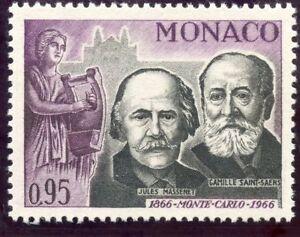 Stamp / Timbre De Monaco N° 696 ** Effigie De Jules Massenet Et Saint Saoens