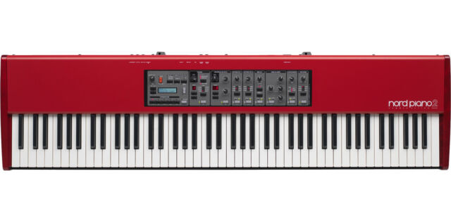 """Nord Piano 2 HA88 Hammer Action HA-88 *B-Stock* with """"Triple Pedal"""" NICE!"""