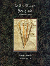 Celtic Music For Flute Learn to Play Irish Folk Songs Tunes Music Book & CD