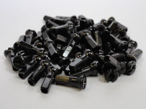 72 14 g noir laiton vélo Spoke Nipples