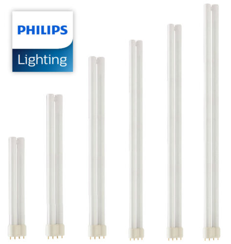 Philips Master PLL 4 PIN 2G11 18w 24w 34w 36w 40w 55w 80w Lynx Dulux Biax PL-L