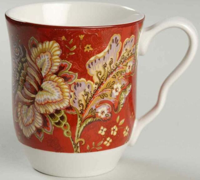 222 Fifth GABRIELLE Red Mug 8784845 Coffee Mug