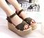 US-Womens-Platform-Sandals-Espadrille-Ankle-Strap-Wedge-Summer-Shoes-Sizes-5-7-5 thumbnail 10
