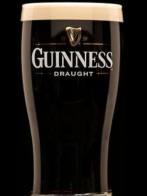 Guiness Label Icing Sheet