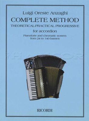 Actief Complete Method For Accordion Sheet Music Book Luigi Oreste Anzaghi Elegante Verschijning