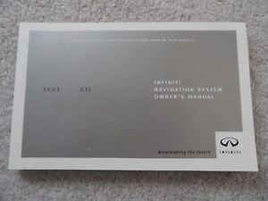 2003 infiniti g35 navigation owners manual ebay rh ebay com 2003 g35 service manual 2004 g35 owners manual pdf