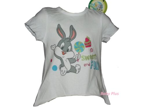 bnwt baby looney tunes baby bugs sweet /& fun top t shirt 3,6,12,18,24 months