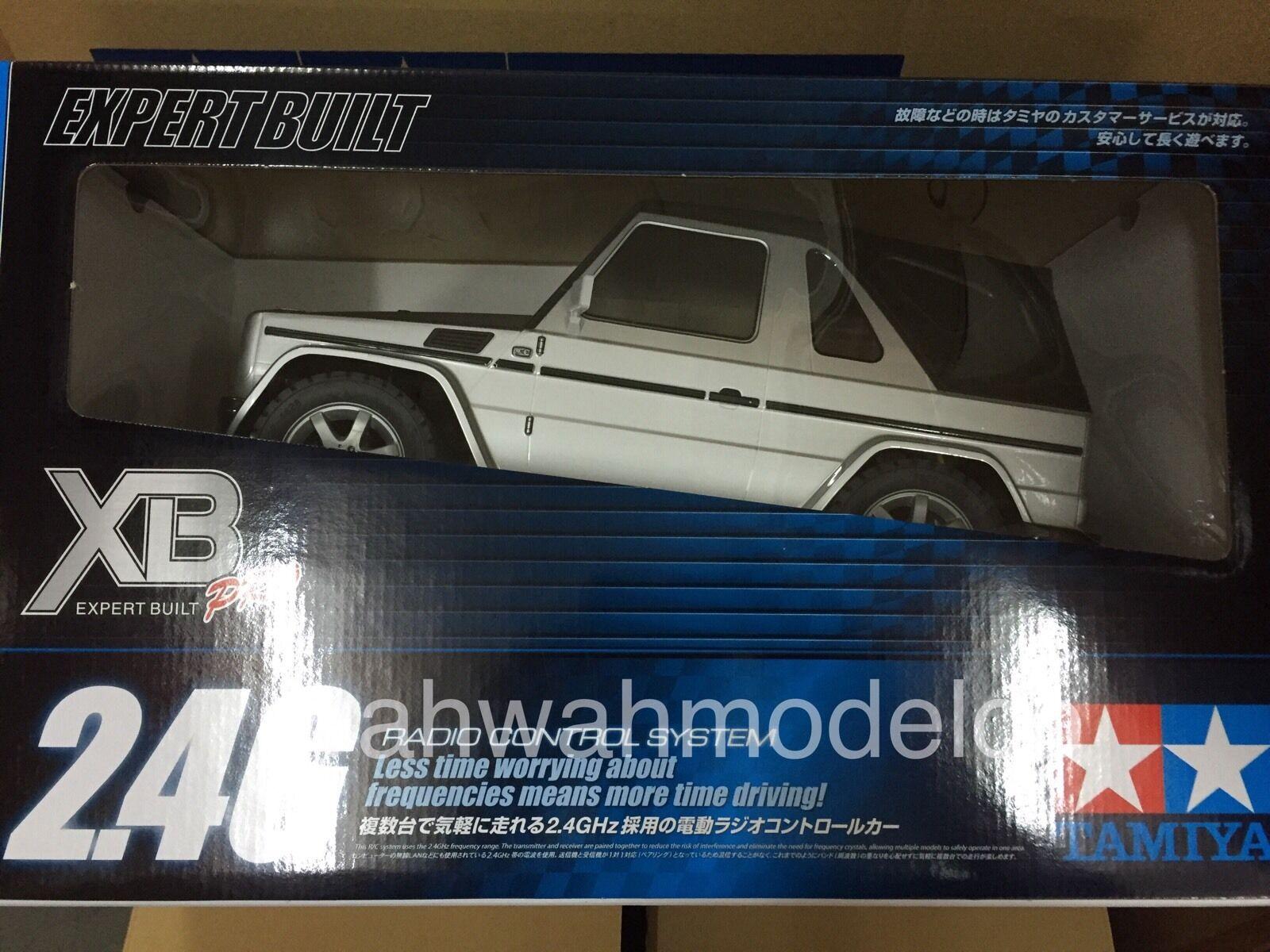 TAMIYA     57898 RC RTR Mercedes-Benz G 320 - MF-01X Cabrio NEW IN BOX a21957