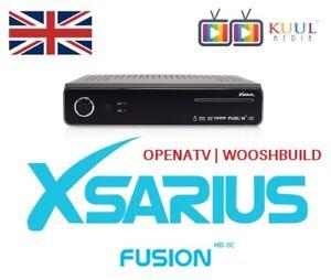 Details about XSARIUS® FUSION HD SE 500GB DVB-S/S2 TWIN SATELLITE ENIGMA 2  | OPENATV | OPENPLI