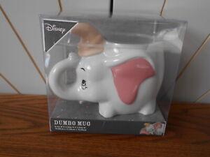DUMBO-character-elephant-shaped-coffee-mug-DISNEY-Primark-pen-pencil-holder-new