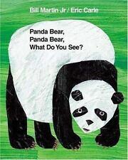 Brown Bear and Friends: Panda Bear, Panda Bear, What Do You See? by Bill, Jr. Martin (2003, Hardcover, Revised)
