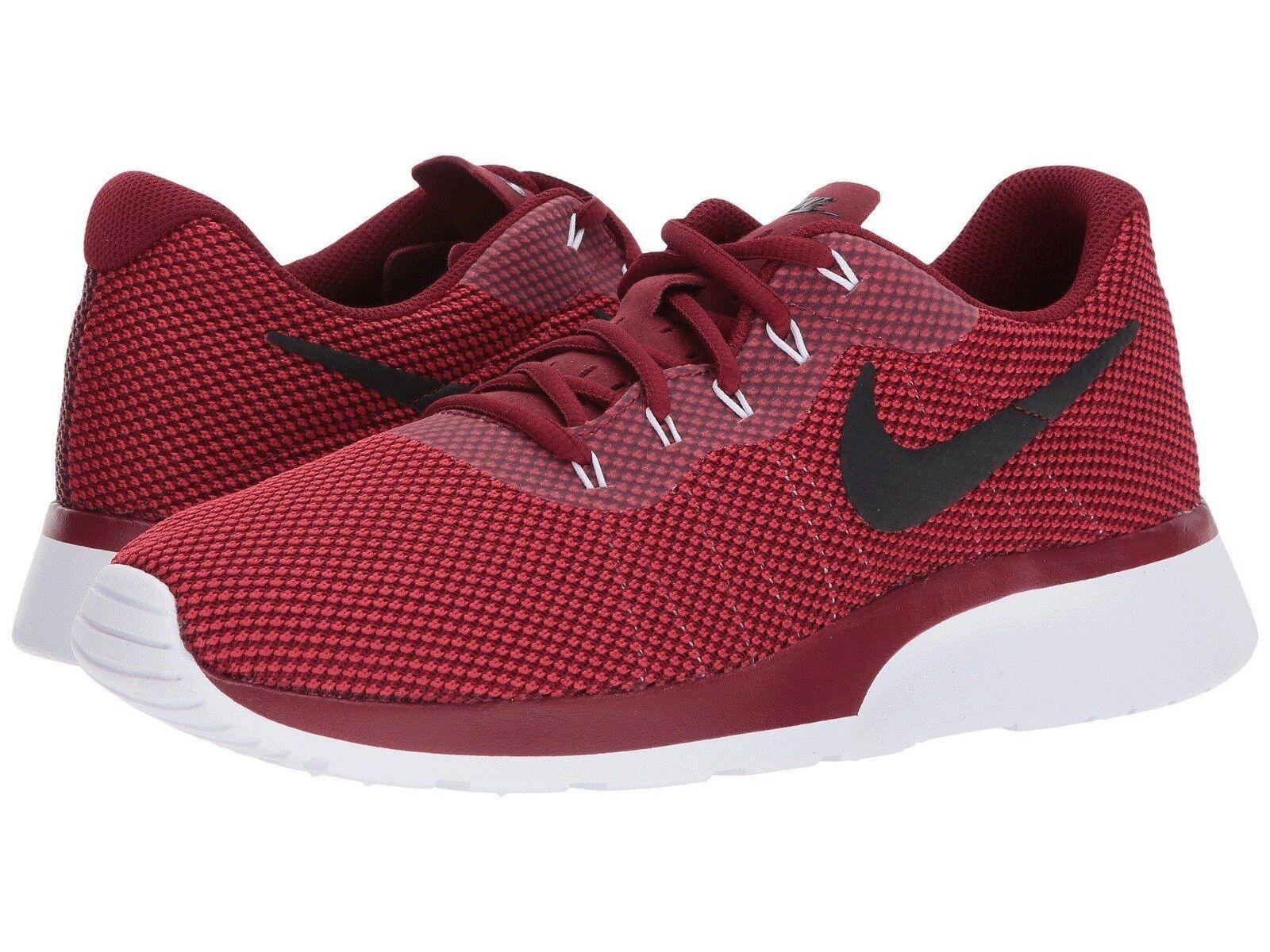 Nike Tanjun Red Racer Men's 11 Team Red Tanjun Black Gym Red Gym Trainers Walking Shoes 4cfa46