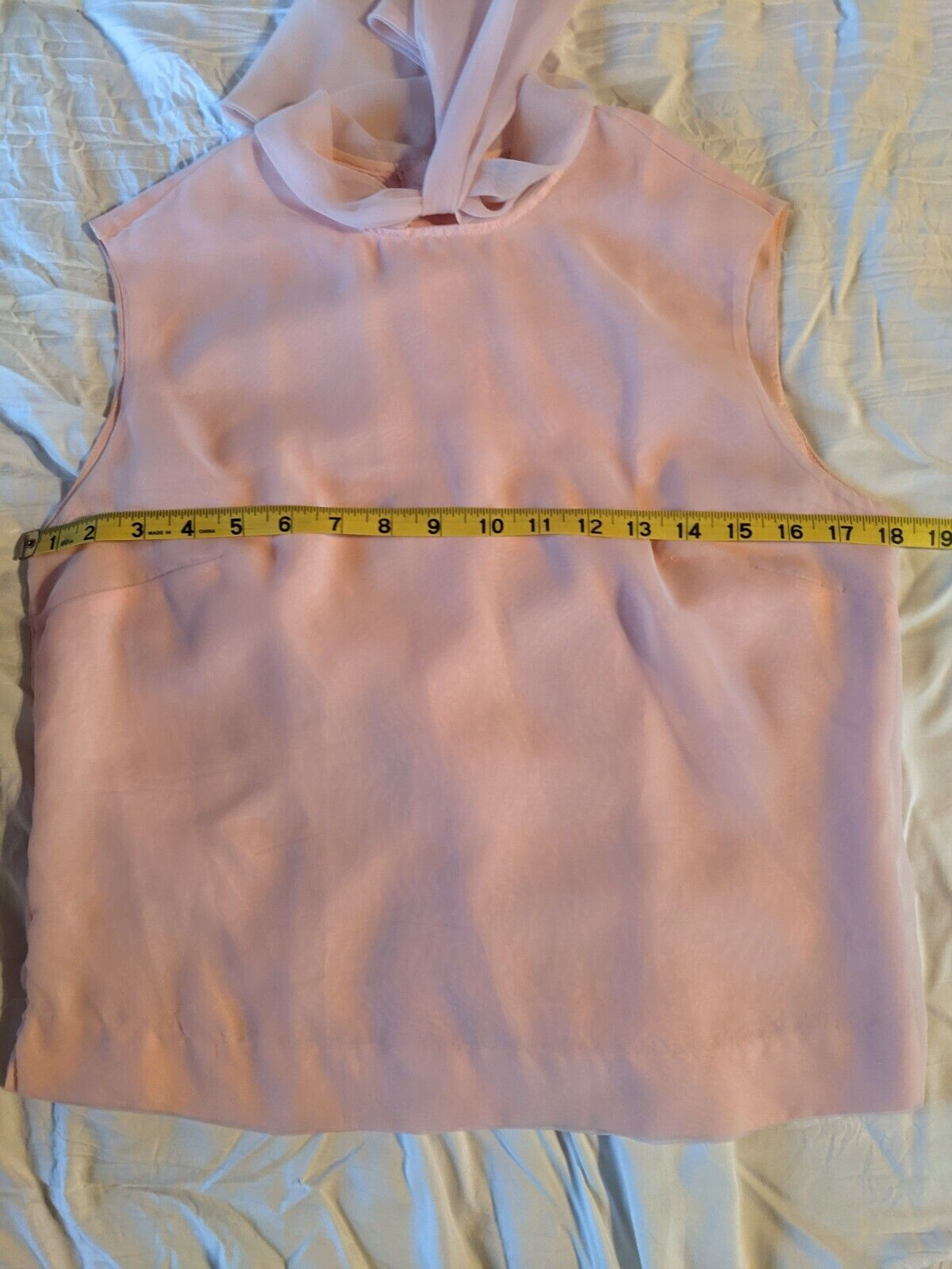 VTG Morlove the Couturier Pink Blouse With Neckti… - image 6