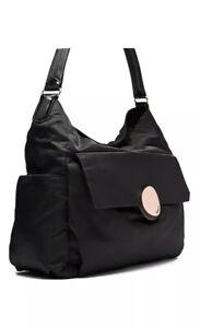 MIMCO-Baby-Bag-Nappy-Dipper-Waver-Hobo-Rose-Gold-Black-Handbag-Uni-BNWT-RRP-169